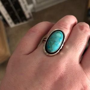 Jewelry - Sterling Silver and Turquoise Ring